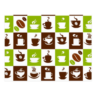 Beautiful Coffee Espresso Cappucino Kitchen Drink Postcard