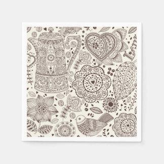 Beautiful Coffee Kitchen Drink Paper Serviettes