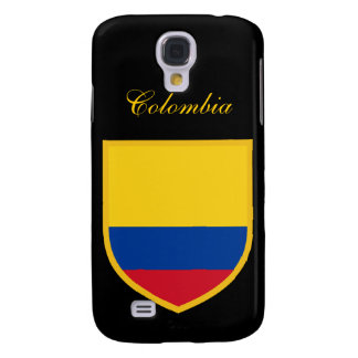 Beautiful Colombia Flag Galaxy S4 Case