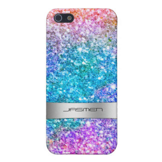 Beautiful Color Collage Glitter Texture GR2 Case For The iPhone 5