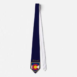 Beautiful Colorado Flag Tie