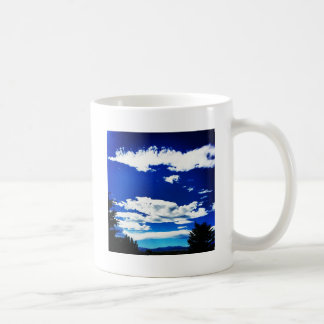 Beautiful Colorado View Basic White Mug
