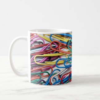 Beautiful Colored paper clips Coffee Mug
