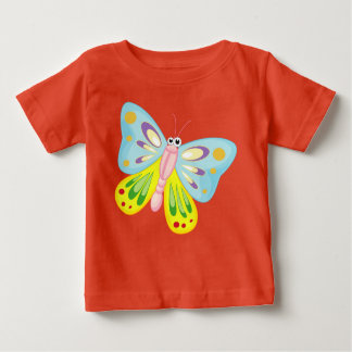 beautiful colorful butterfly love baby T-Shirt
