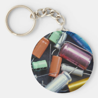 Beautiful Colorful capacitors Key Chain