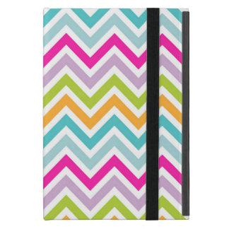 Beautiful Colorful Chevron Cover For iPad Mini