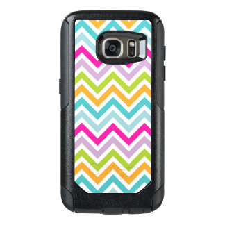 Beautiful Colorful Chevron OtterBox Galaxy S7 OtterBox Samsung Galaxy S7 Case