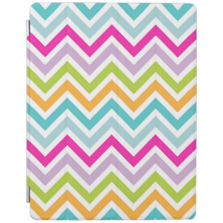 Beautiful Colorful Chevron Pattern iPad Cover