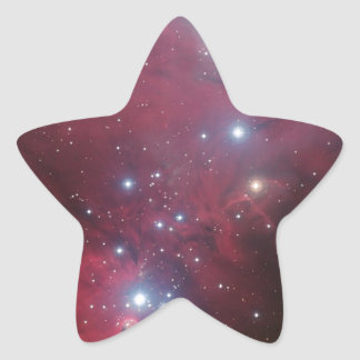Beautiful, colorful Dark nebula Star Sticker
