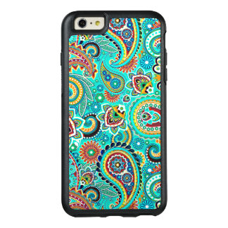 Beautiful Colorful Floral Paisley OtterBox iPhone 6/6s Plus Case