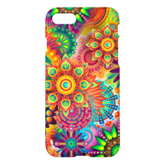 Beautiful colorful Flower Case