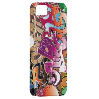beautiful  colorful graffiti art iPhone 5 cover
