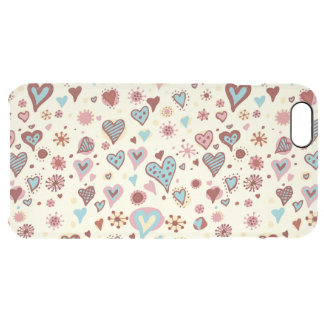 beautiful colorful love hearts vector art iPhone 6 plus case