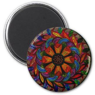 Beautiful Colorful Mandala Magnet
