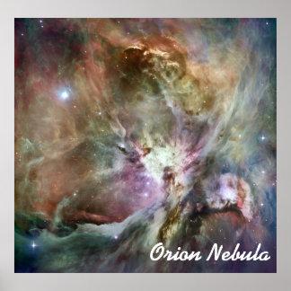 Beautiful colorful Orion nebula Print