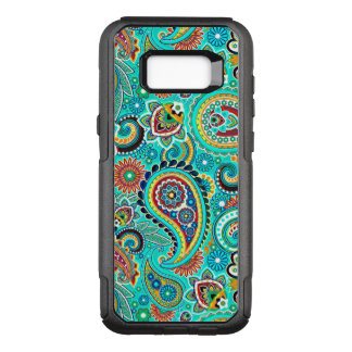 Beautiful Colorful Paisley OtterBox Commuter Samsung Galaxy S8+ Case