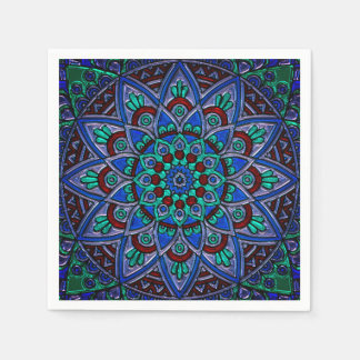 Beautiful Colorful Pattern Napkin Disposable Serviette