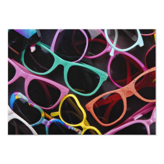 Beautiful Colorful sunglasses Card