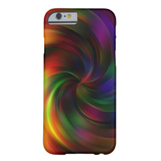 Beautiful colorful Swirl Pattern Barely There iPhone 6 Case