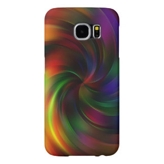 Beautiful colorful Swirl Pattern Samsung Galaxy S6 Cases