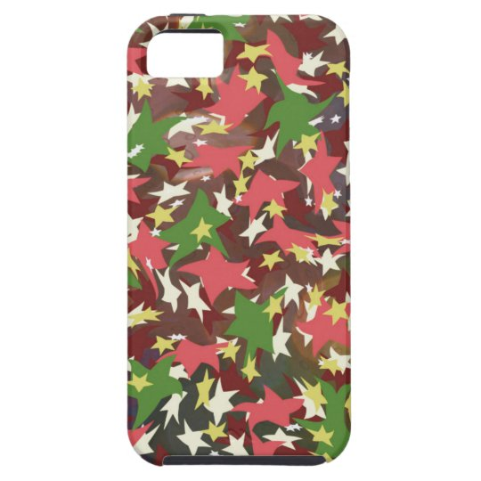 Beautiful colorful swirling stars case for the iPhone