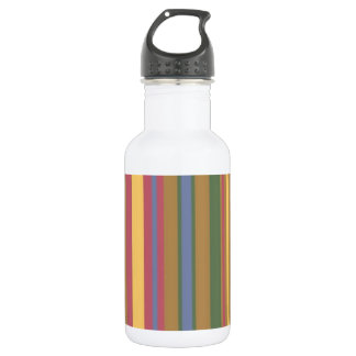 beautiful coloured stripes 532 ml water bottle