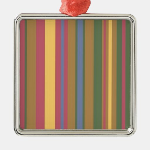 beautiful coloured stripes christmas tree ornaments