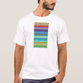 beautiful colourful stripes T-Shirt