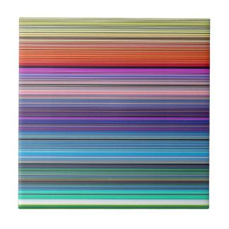 beautiful colourful stripes tile
