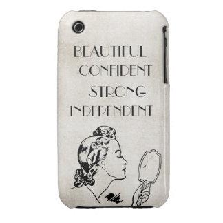 Beautiful,confident,strong Retro iPhone3g/ case iPhone 3 Case-Mate Case