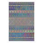 Beautiful cool colourful Aztec geometric pattern Personalized Stationery