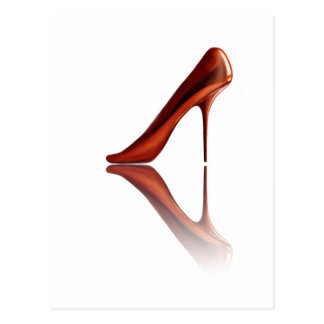 Beautiful COOL high-heels Postcard