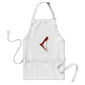 Beautiful COOL high-heels Standard Apron