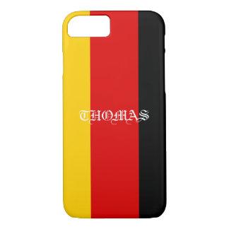 Beautiful Cool Patriotic Monogram Flag of Germany iPhone 8/7 Case