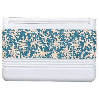 Beautiful Coral Pattern Igloo Cooler