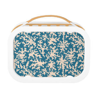 Beautiful Coral Pattern Lunch Box