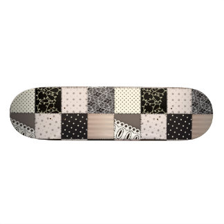 Beautiful Country Patchwork Quilt Skate Board Decks