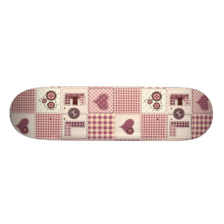 Beautiful Country Quilt that Says LOVE Skateboard Decks