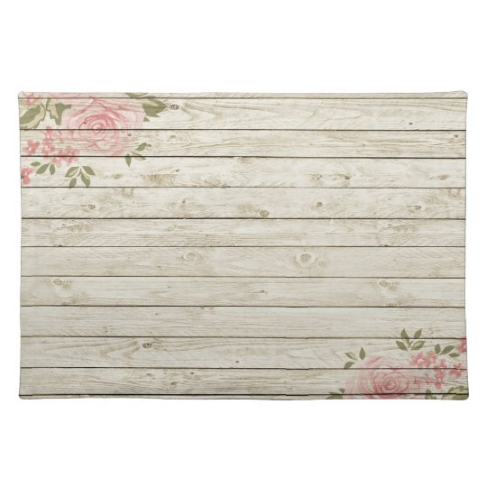 Beautiful Country Shabby Chic Rustic Wood Placemat