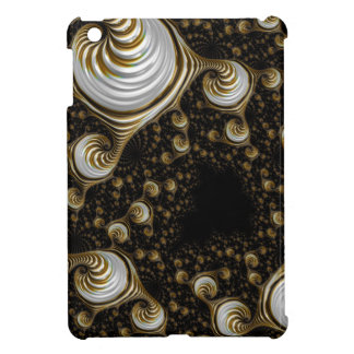 Beautiful Cream Coffee Fractal iPad Mini Cover
