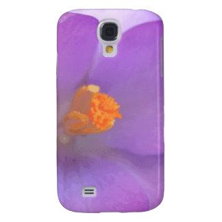 Beautiful Crocus Flower  Galaxy S4 Case