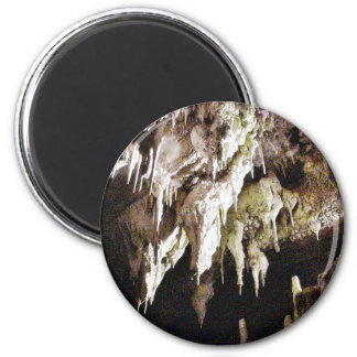 Beautiful Crystal Cave 6 Cm Round Magnet