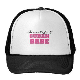 Beautiful Cuban Babe Cap