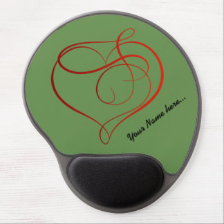Beautiful custom Gel Mousepad with Your name Gel Mouse Mat