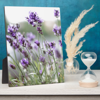 Beautiful Custom Spring Flowers - Lavender Plaques