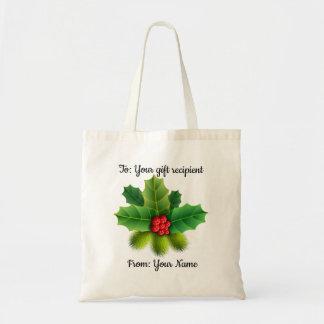 Beautiful Customised Christmas Gift Bag