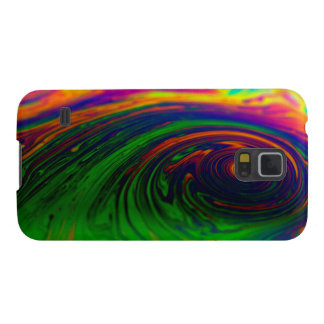 BEAUTIFUL CYCLONE PAINTING GALAXY S5 CASES