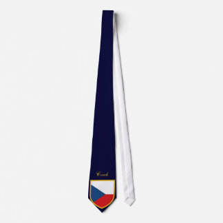 Beautiful Czech Republic Flag Tie