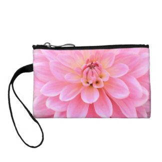 Beautiful Dahlia (closeup) Coin Purse