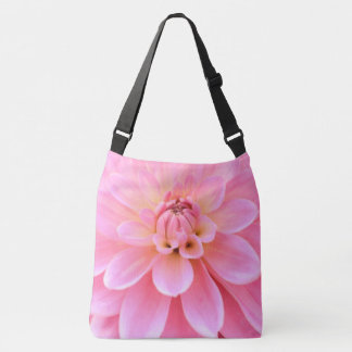 Beautiful Dahlia (closeup) Crossbody Bag